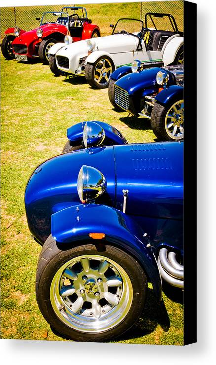 Lotus Seven Canvas Print featuring the photograph Lotus Seven by Phil 'motography' Clark