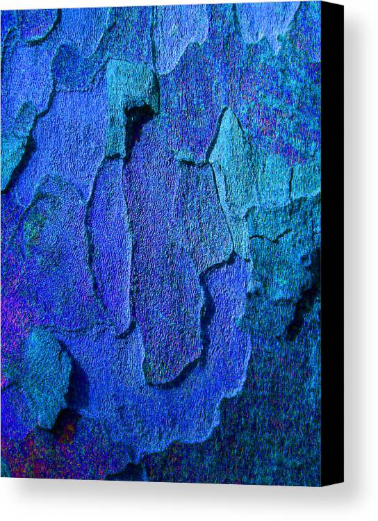 Bark Canvas Print featuring the photograph Winter London Plane Tree Abstract 4 by Margaret Saheed