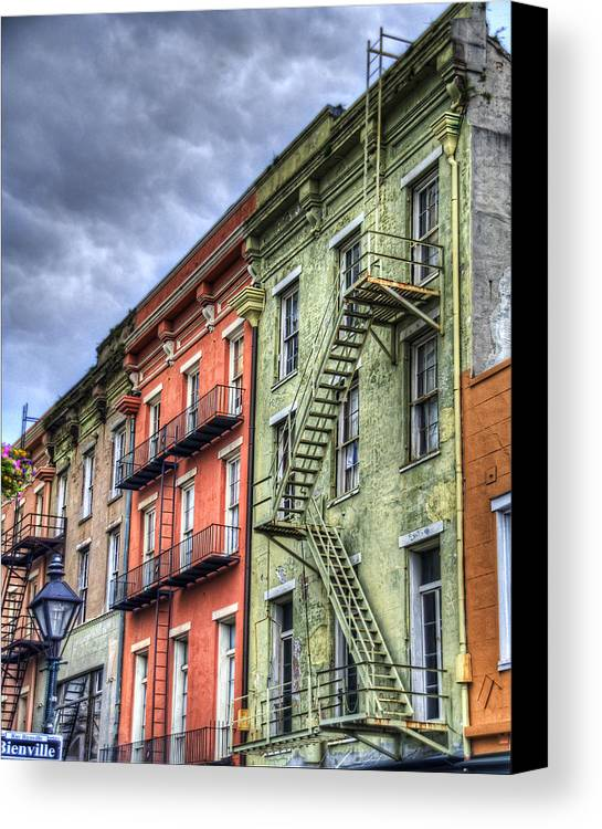 Rue Canvas Print featuring the photograph Rue Bienville by Tammy Wetzel
