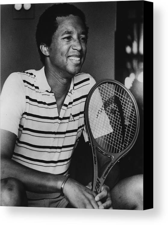 classic Canvas Print featuring the photograph Arthur Ashe by Retro Images Archive
