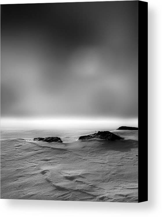 Winter Canvas Print featuring the photograph Before Sunrise by Bob Orsillo
