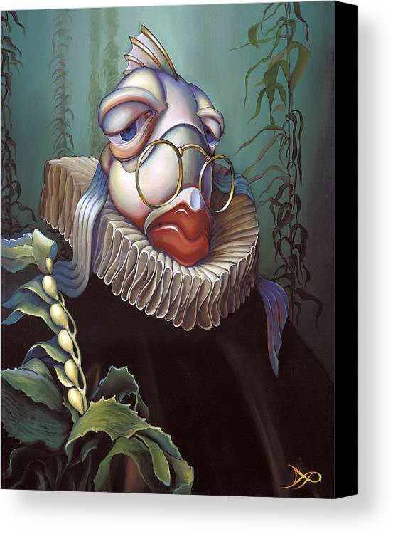Court Canvas Print featuring the painting Marquis De Sole by Patrick Anthony Pierson