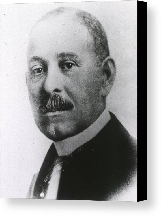 History Canvas Print featuring the photograph Daniel H. Williams 1856-1931 by Everett