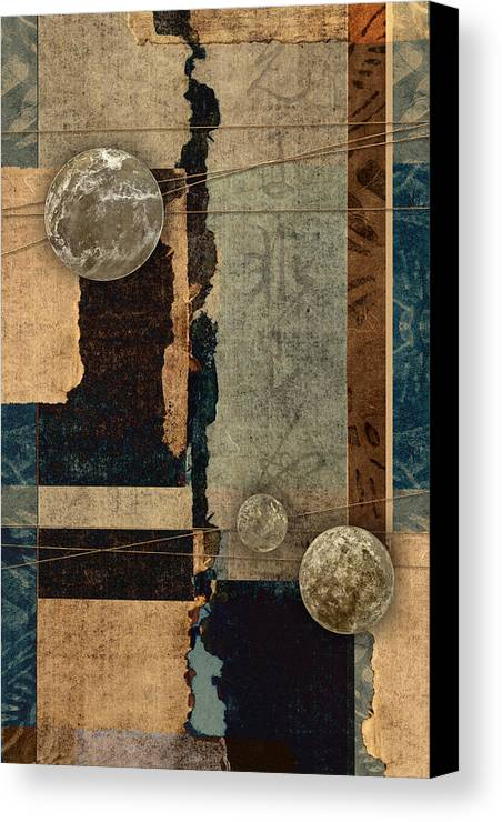 Planet Canvas Print featuring the photograph Planetary Shift #2 by Carol Leigh