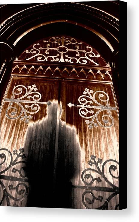 Aura Canvas Print featuring the digital art Church Aura by John Monteath