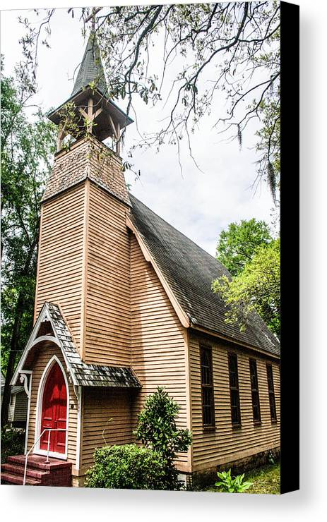 Church Canvas Print featuring the photograph Church Of Atonement by Steven Taylor