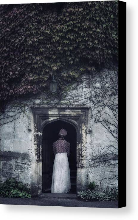 Woman Canvas Print featuring the photograph Ivy Tower by Joana Kruse