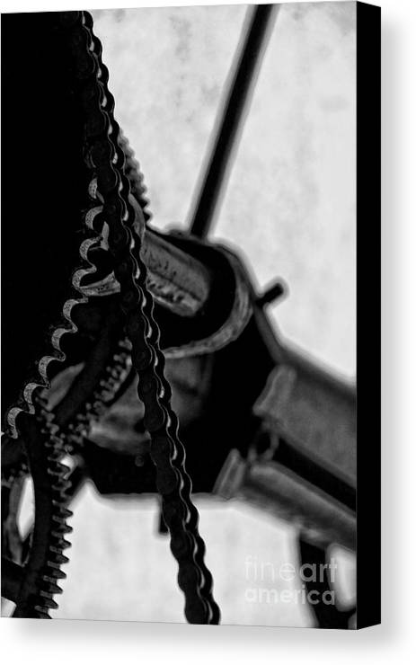 Clocks Canvas Print featuring the photograph Moving Time by Catherine Fenner