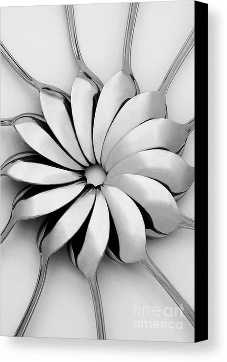 Spoon Canvas Print featuring the photograph Spoons I by Natalie Kinnear