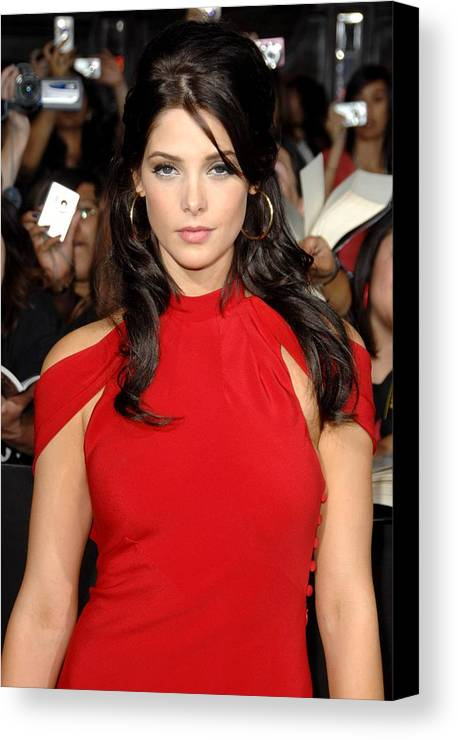 Ashley Greene Canvas Print featuring the photograph Ashley Greene At Arrivals For The by Everett