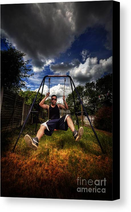 Yhun Suarez Canvas Print featuring the photograph Swinger by Yhun Suarez