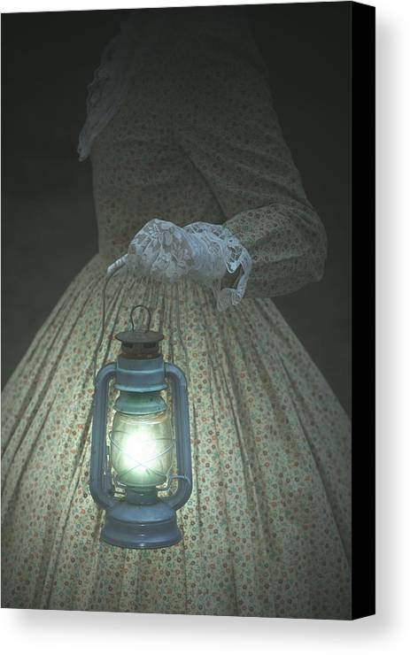 Female Canvas Print featuring the photograph The Light by Joana Kruse