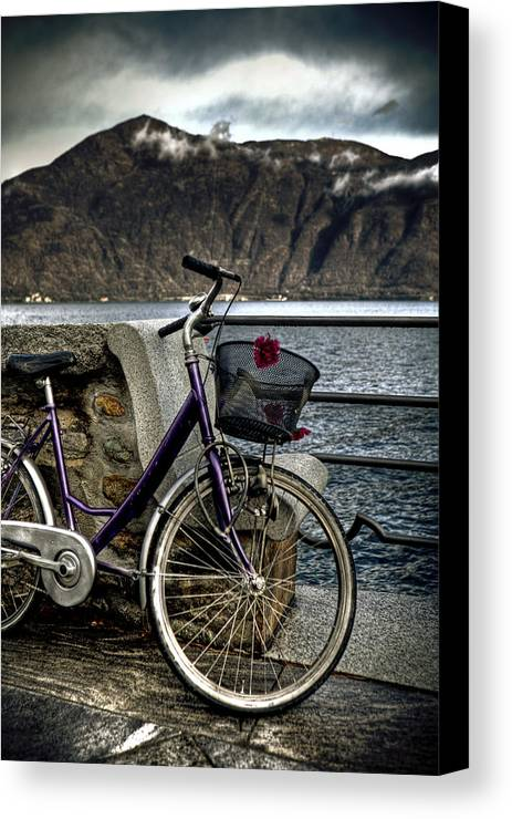 Bicycle Canvas Print featuring the photograph Retro Bike by Joana Kruse