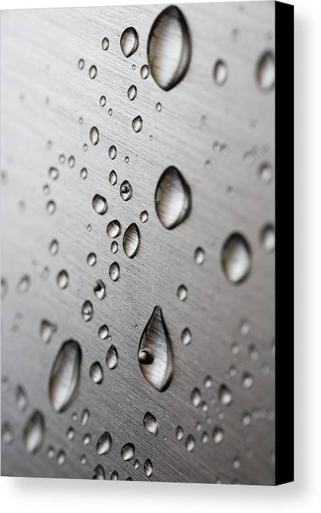 Frank Tschakert Canvas Print featuring the photograph Water Drops by Frank Tschakert