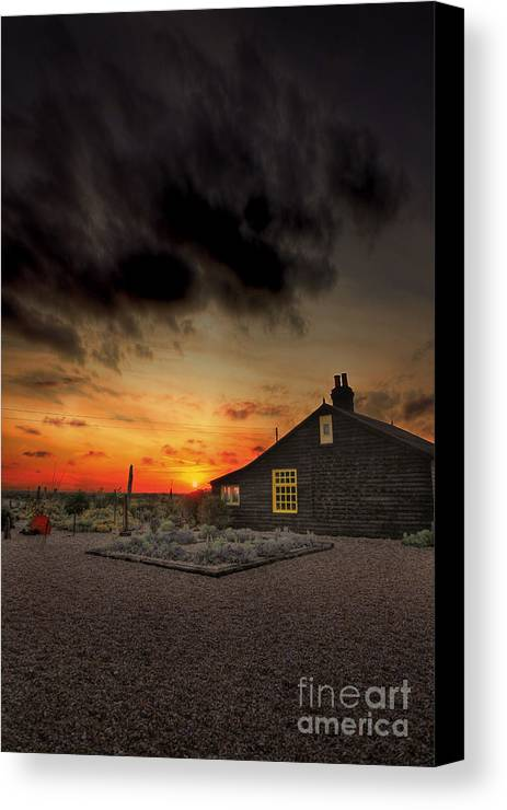 Derek Jarman Canvas Print featuring the photograph Home To Derek Jarman by Lee-Anne Rafferty-Evans