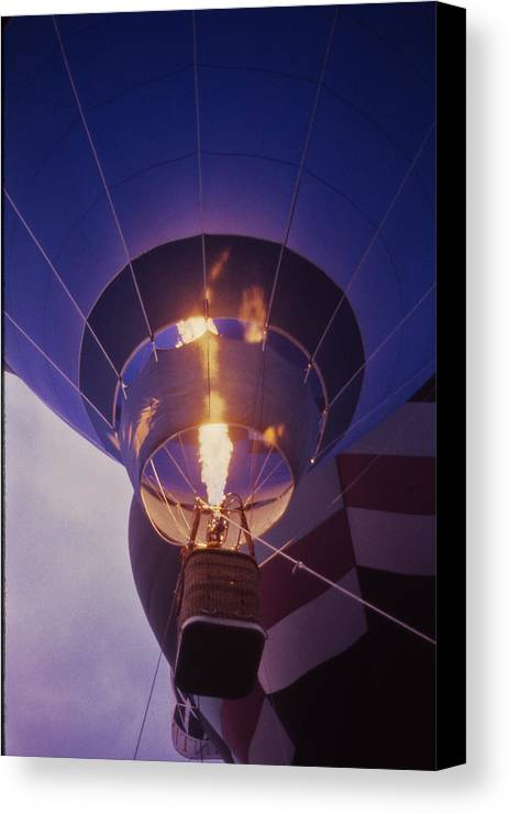 Tennessee Canvas Print featuring the photograph Hot Air Balloon - 2 by Randy Muir
