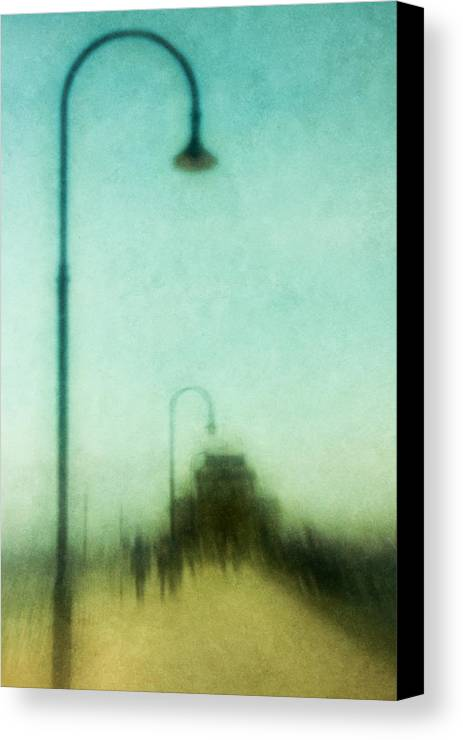 Lamp Canvas Print featuring the photograph Introspective by Andrew Paranavitana