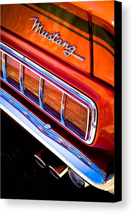 Ford Mustang Canvas Print featuring the photograph Mustang Mach 1 by Phil 'motography' Clark