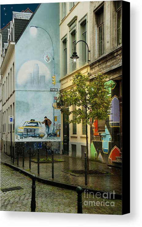 Architecture And Building Canvas Print featuring the photograph Xiii by Juli Scalzi