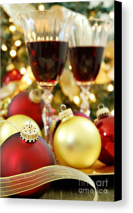 Christmas Canvas Print featuring the photograph Christmas by HD Connelly