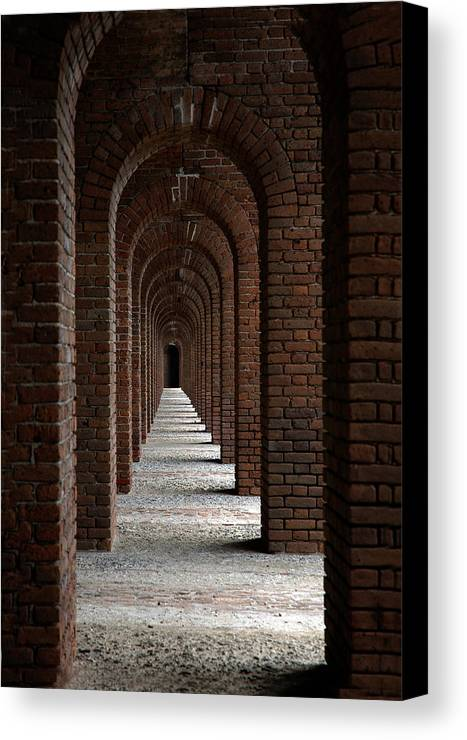 Photography Canvas Print featuring the photograph Perspectives by Susanne Van Hulst