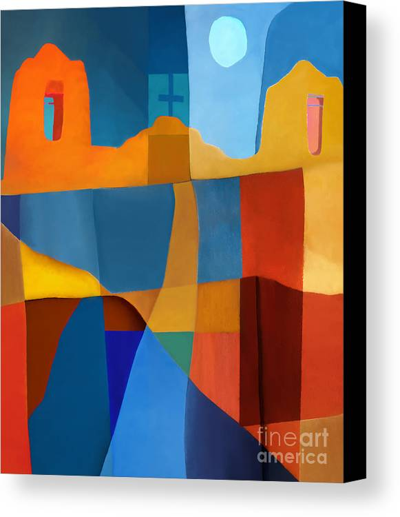 Abstract Canvas Print featuring the photograph Abstract # 2 by Elena Nosyreva