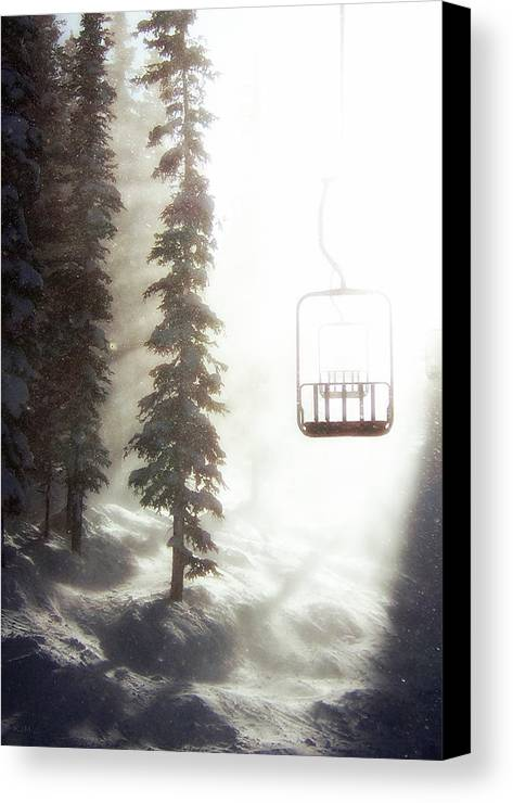 Alpine Canvas Print featuring the photograph Chairway To Heaven by Kevin Munro