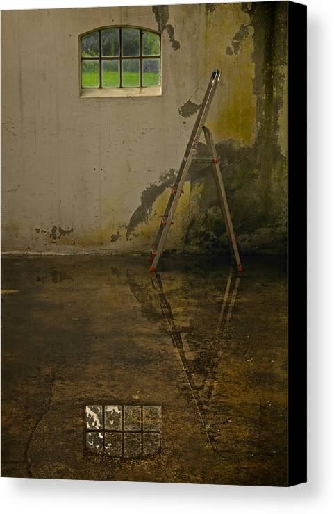 Room Canvas Print featuring the photograph Room For Reflection by Odd Jeppesen