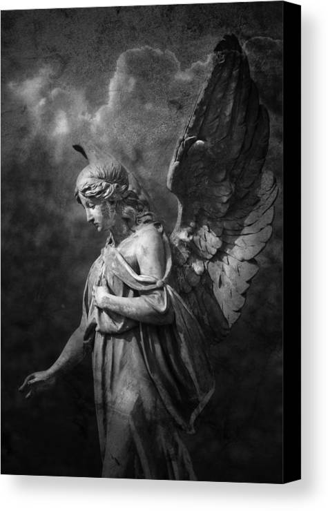 Angel Canvas Print featuring the photograph Angel by Marc Huebner