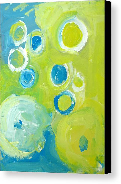 Abstract Art Canvas Print featuring the painting Abstract IIII by Patricia Awapara