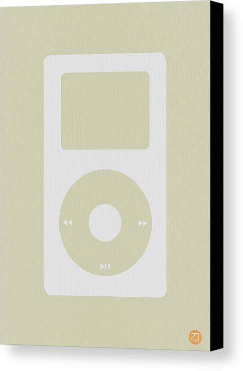 Ipod Canvas Print featuring the photograph iPod by Naxart Studio
