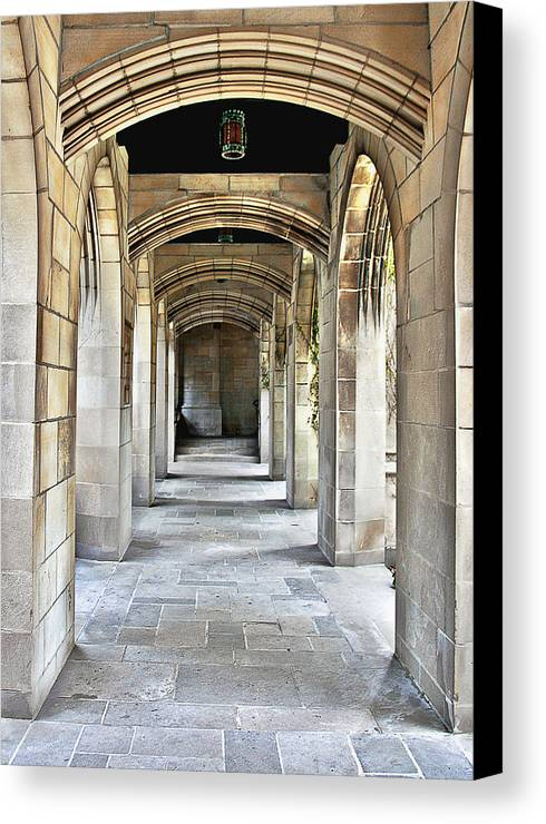 Pcusa Canvas Print featuring the photograph Fourth Presbyterian Church Chicago by Christine Till