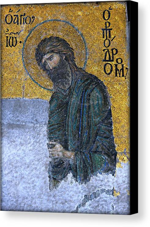 Baptist Canvas Print featuring the photograph John The Baptist by Stephen Stookey