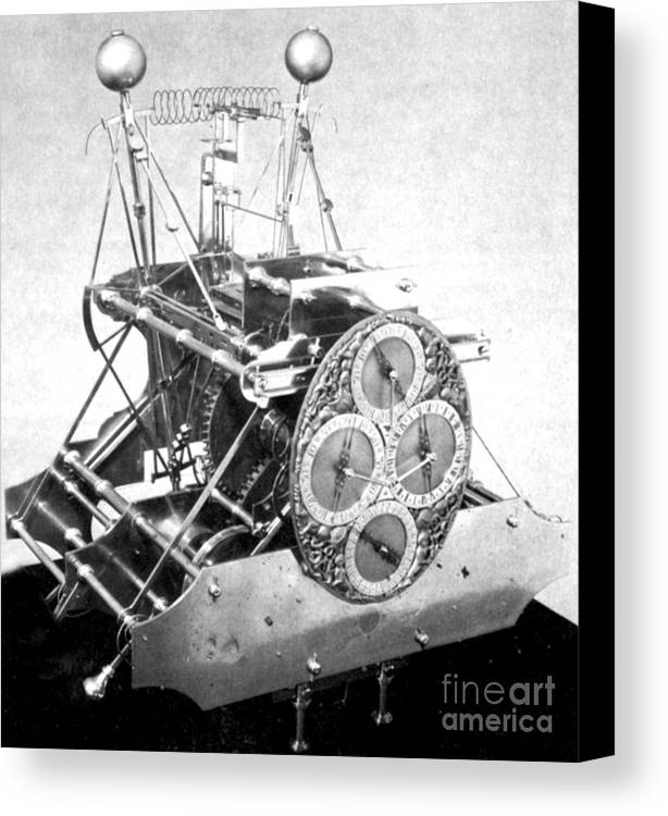 History Canvas Print featuring the photograph Harrisons First Marine Timekeeper by Photo Researchers