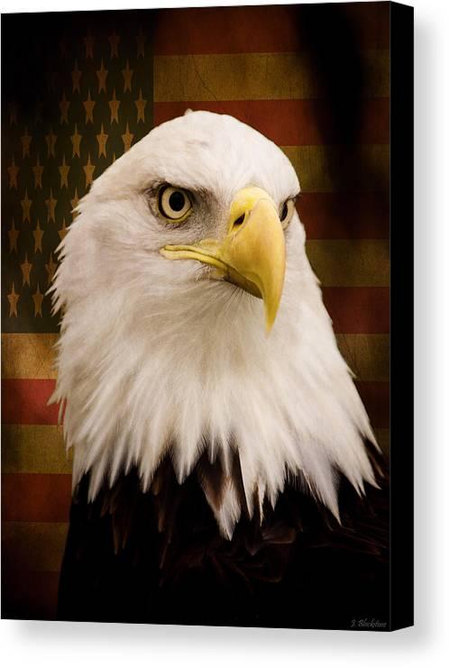 May Your Heart Soar Like An Eagle Canvas Print featuring the photograph May Your Heart Soar Like An Eagle by Jordan Blackstone