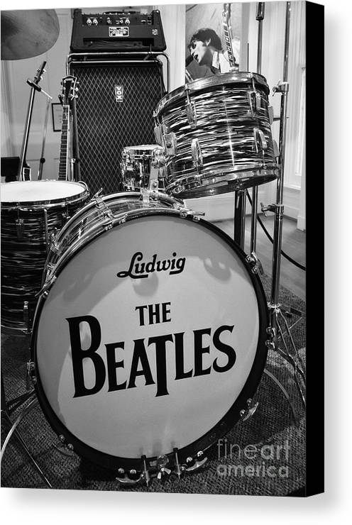 The Beat Goes On Canvas Print by Mel Steinhauer