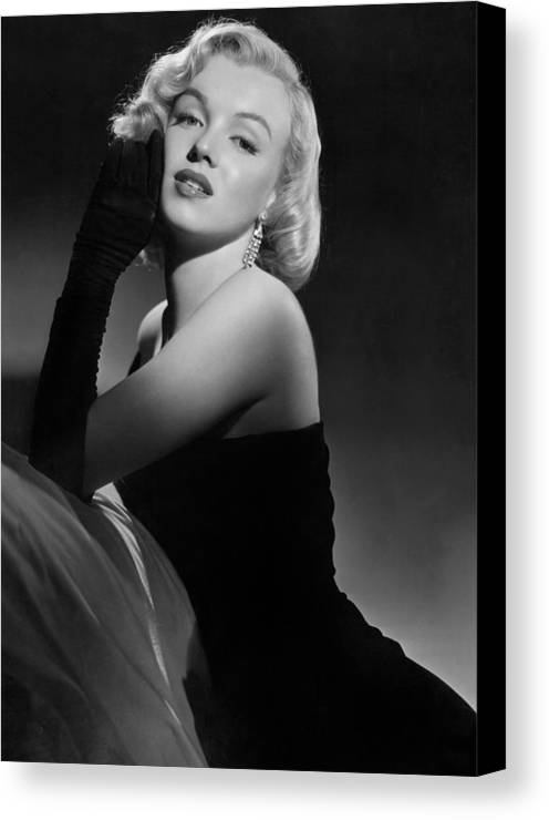 Marilyn Canvas Print featuring the photograph Marilyn Monroe by American School
