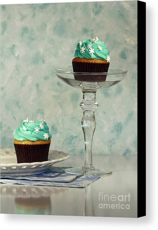 Cupcake Frenzy Canvas Print featuring the photograph Cupcake Frenzy by Inspired Nature Photography Fine Art Photography