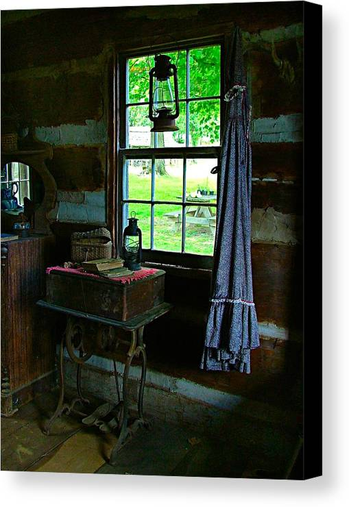 Grandmas Canvas Print featuring the photograph Grandma's Things by Julie Dant