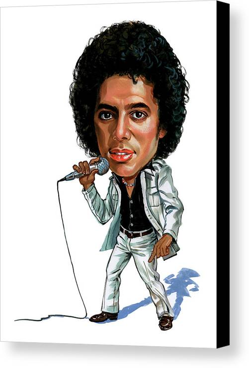 Michael Jackson Canvas Print featuring the painting Michael Jackson by Art