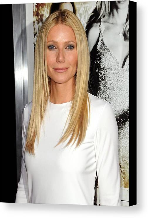 Gwyneth Paltrow Canvas Print featuring the photograph Gwyneth Paltrow At Arrivals For Country by Everett