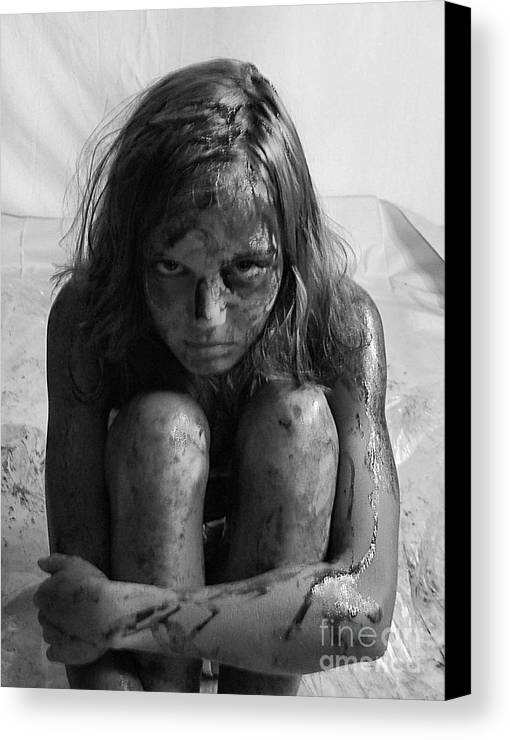 Gulf Oil Spill Canvas Print featuring the photograph Gulf Oil Spill Of 2010 Awareness Project- Amy II by Julie Dant