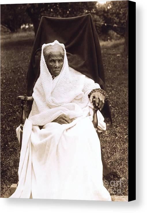 Douglass Canvas Print featuring the photograph Harriet Tubman Portrait 1911 by Unknown