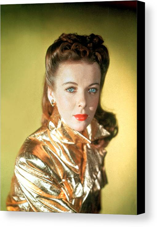 1940s Canvas Print featuring the photograph Ida Lupino by Everett