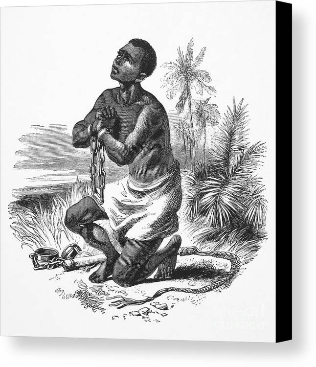 19th Century Canvas Print featuring the photograph Slavery: Abolition by Granger