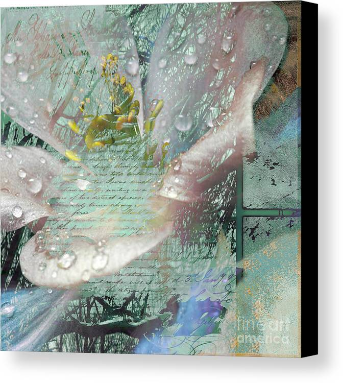 Canvas Print featuring the mixed media Pop V by Yanni Theodorou