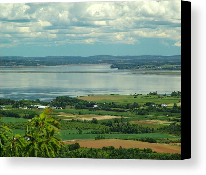 George Canvas Print featuring the photograph Annapolis Valley No.1 by George Cousins