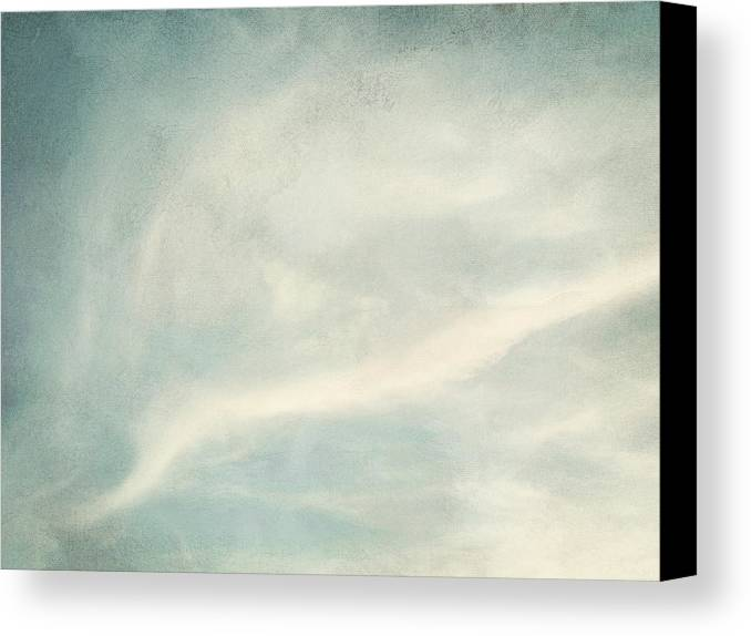 Brett Canvas Print featuring the digital art Cloud Series 6 Of 6 by Brett Pfister