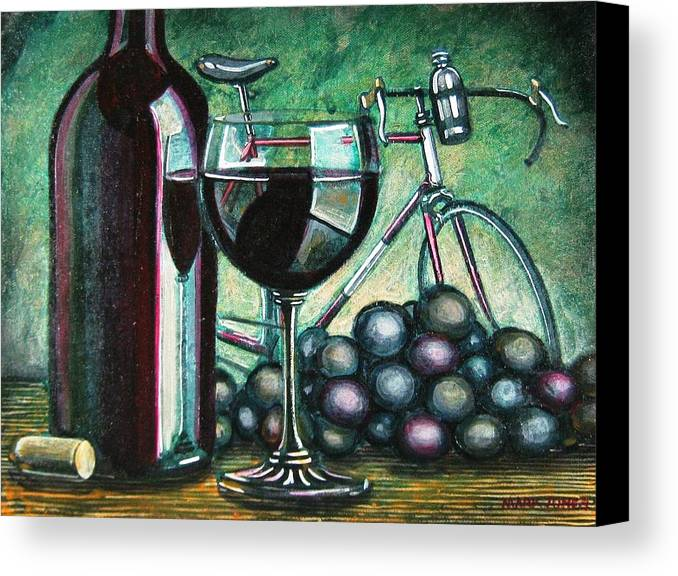 Still Life Canvas Print featuring the painting L'eroica Still Life by Mark Howard Jones