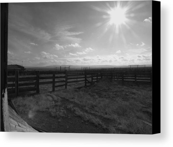 Colorado Canvas Print featuring the photograph Rancho Colorado by Anna Villarreal Garbis